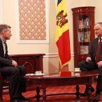 Президент дал интервью приднестровским журналистам