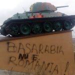 По факту осквернения воинского мемориала в Хынчештах возбуждено уголовное дело (ФОТО)