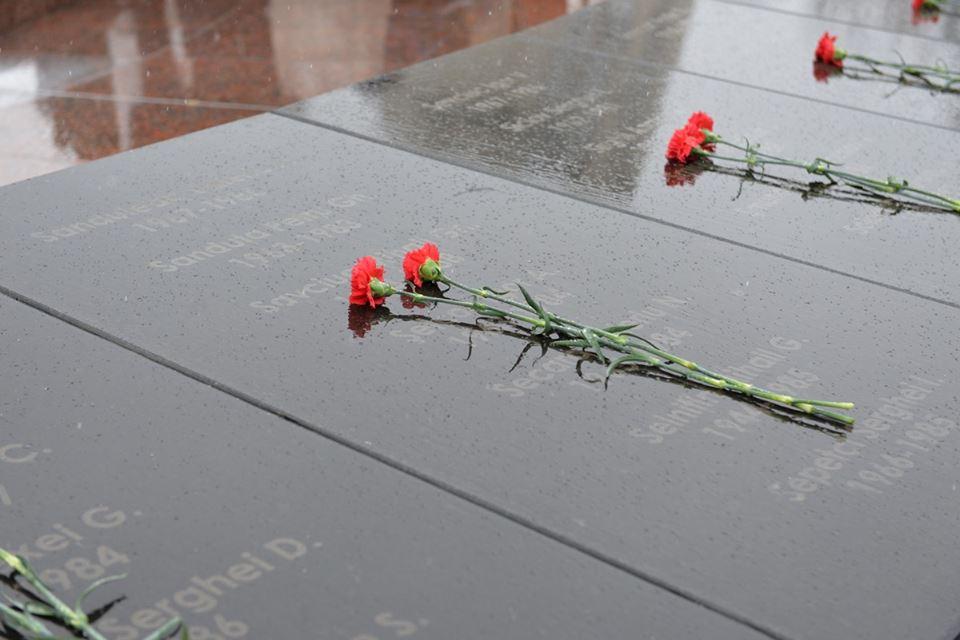 Социалисты почтили память погибших в войне в Афганистане (ФОТО)