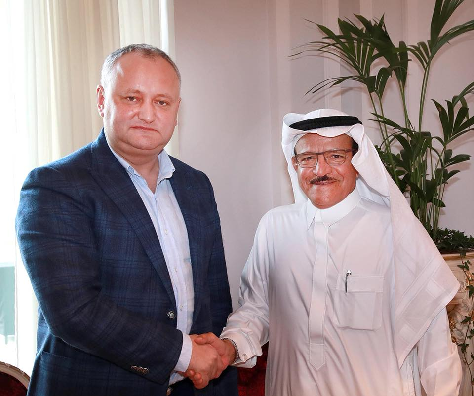 President Dodon and the largest investor from Saudi Arabia agreed to build a multifunctional sports complex in Moldova