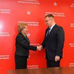 Зинаида Гречаный обсудила с послом Польши в Молдове двусторонние отношения между странами