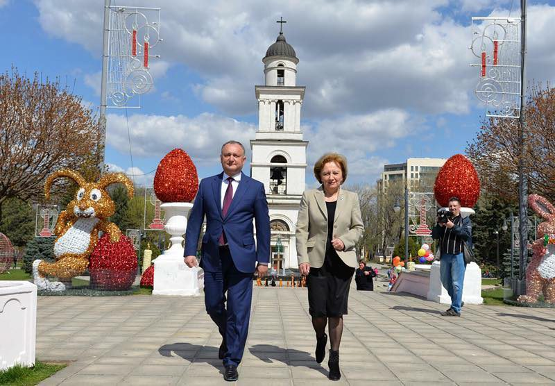 Гречаный – Додону: Гордимся тем, что вы являетесь лидером Партии социалистов (ФОТО)