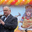Президент принял участие в праздновании Масленицы (ФОТО)
