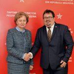 Зинаида Гречаный встретилась с главой делегации ЕС в Молдове