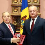 Президент наградил экс-посла Турции в Молдове Орденом почёта