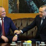 Додон поздравил Эрдогана с днем рождения