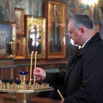 Президент посетил монастырь Успения Святой Богородицы в Окнице