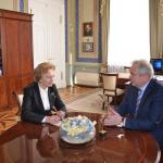 Зинаида Гречаный провела важную встречу в Санкт-Петербурге