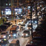 В День всех влюбленных в Кишиневе образовались серьезные пробки