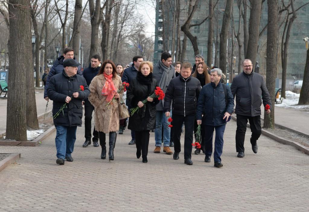 Социалисты почтили память Александра Пушкина