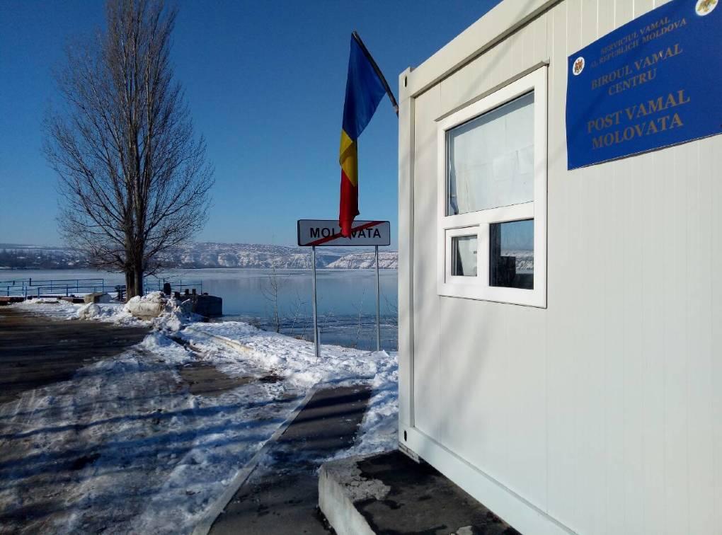 На Днестре возобновил деятельность ранее закрытый таможенный пункт паромного типа