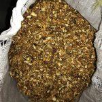 Таможенники изъяли более 100 мешков грецких орехов, которые пытались ввезти в страну (ФОТО)
