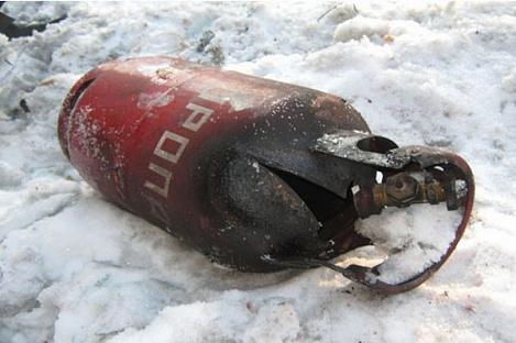 Серьезные ожоги получил житель Ниспорен в результате взрыва газового баллона