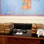 Молдаванин задержан в Италии с 88 килограммами наркотиков