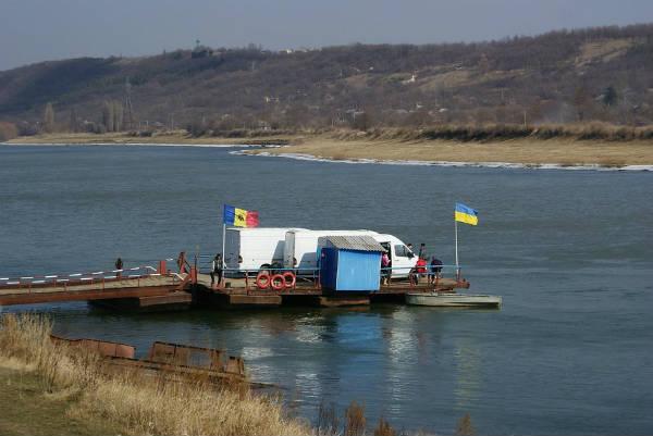 КПП паромного типа «Косэуць» приостановил свою деятельность