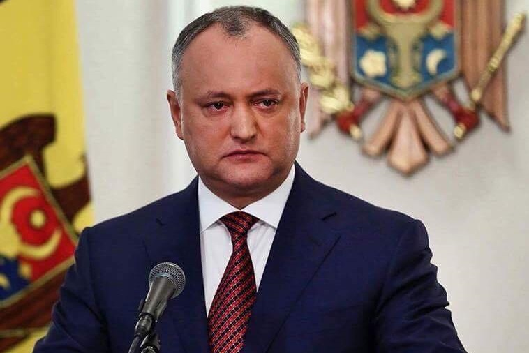 Igor Dodon expressed anxiety in connection with the escalation in Syria