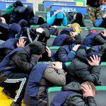 """Учения в Кишиневе: """"террористы"""" оцепили стадион """"Зимбру"""" и """"захватили"""" заложников (ФОТО)"""