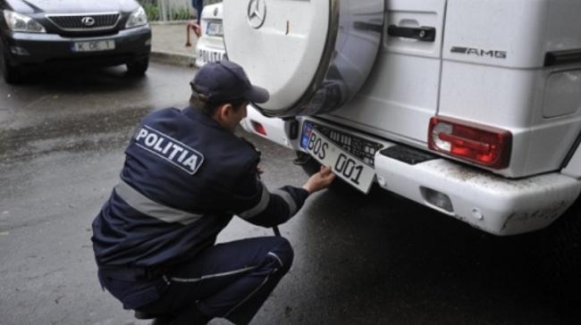 Парламент одобрил в первом чтении запрет полиции снимать номерные знаки