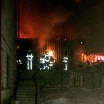 Пожар в Кодру уничтожил большую часть дров, запасённых хозяевами на зиму (ФОТО)