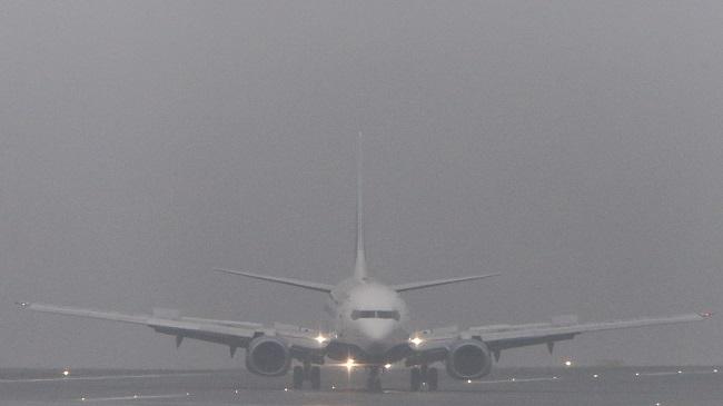 Нелётная погода: из-за густого тумана в кишинёвском аэропорту аннулируются рейсы