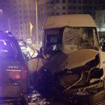 Серьезное ДТП в Кишиневе с участием трех машин: один человек госпитализирован (ВИДЕО)