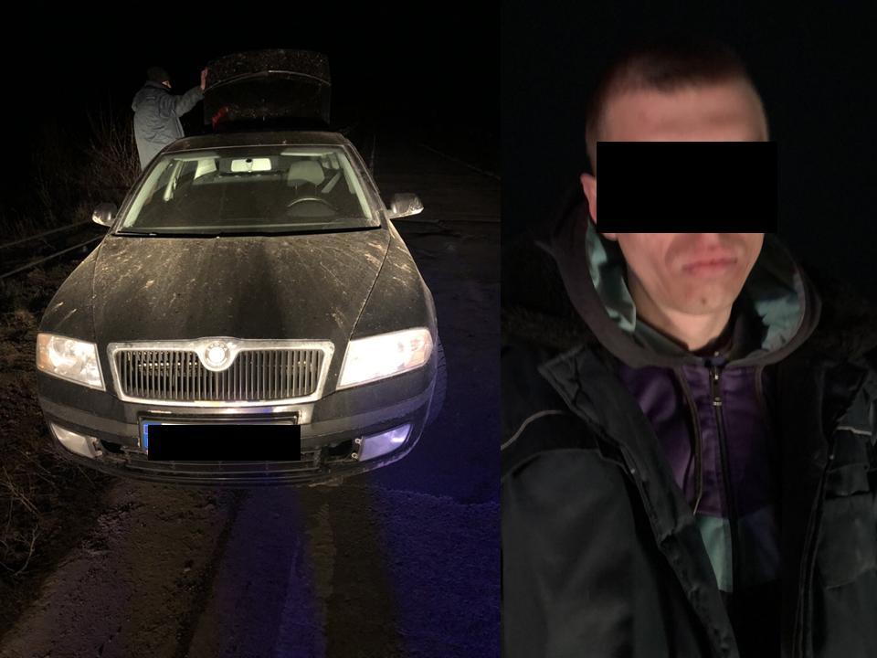 Кишиневец угнал автомобиль со стоянки, стащив у сторожа ключи (ВИДЕО)