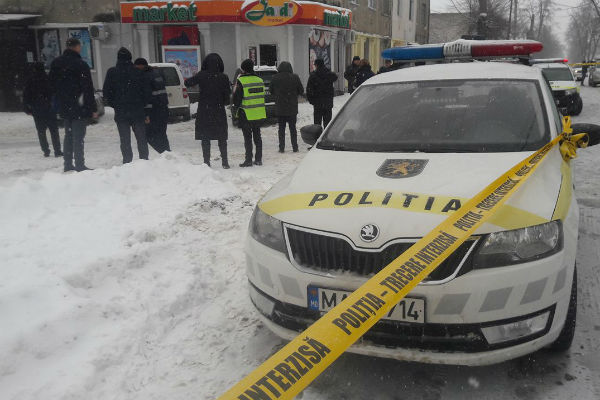 Опубликовано видео с моментом взрыва в магазине Кишинева (18+)