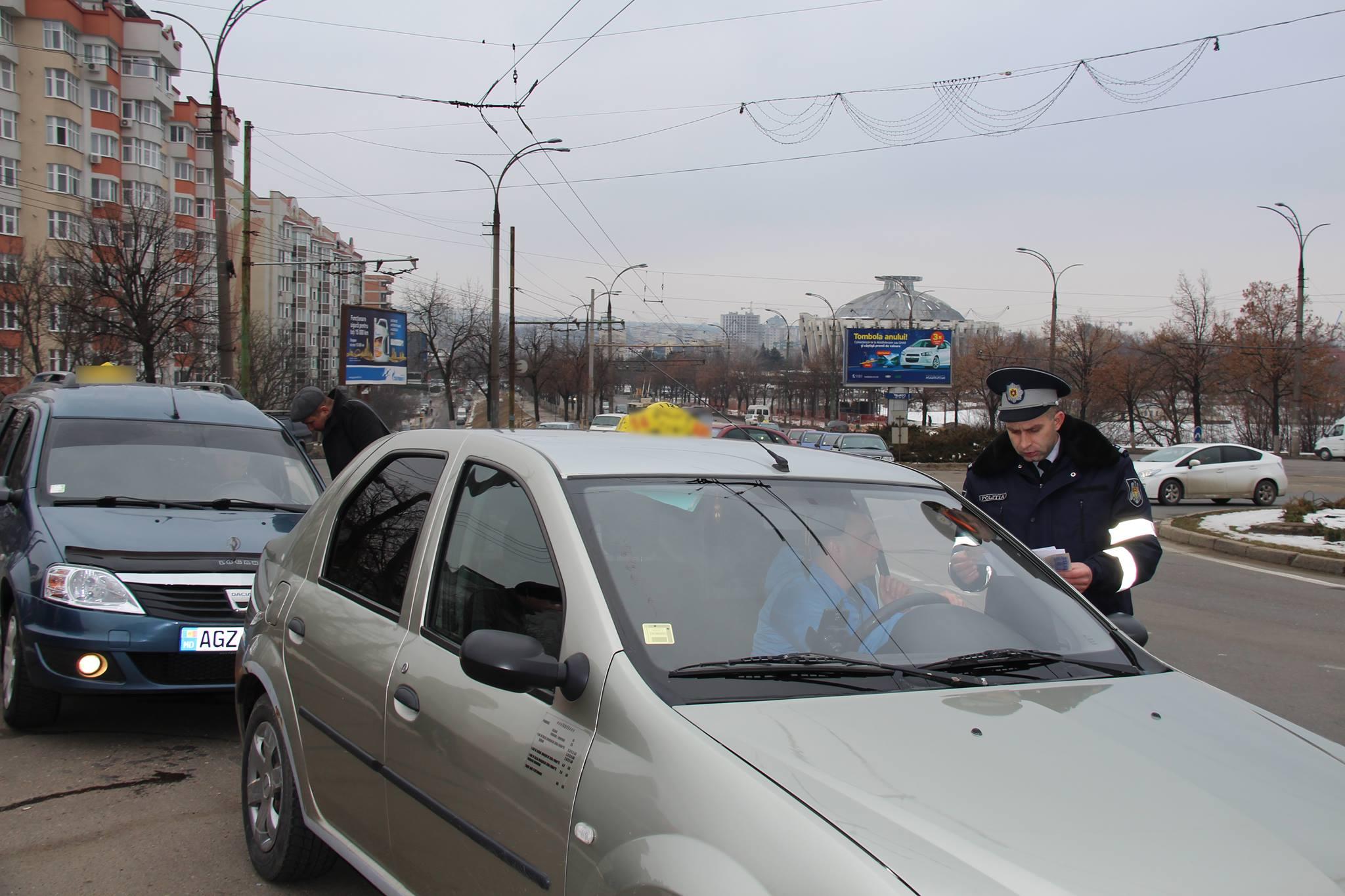 Более 100 неисправных машин такси разъезжают по Кишиневу