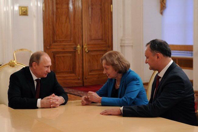 Гречаный поздравила Путина с победой на президентских выборах в России
