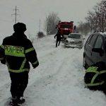 Спасатели предупреждают: на юге Молдовы в пятницу ожидается сильный снегопад