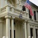 Правительство одобрило подписание соглашения о передаче участка бывшего Республиканского стадиона посольству США