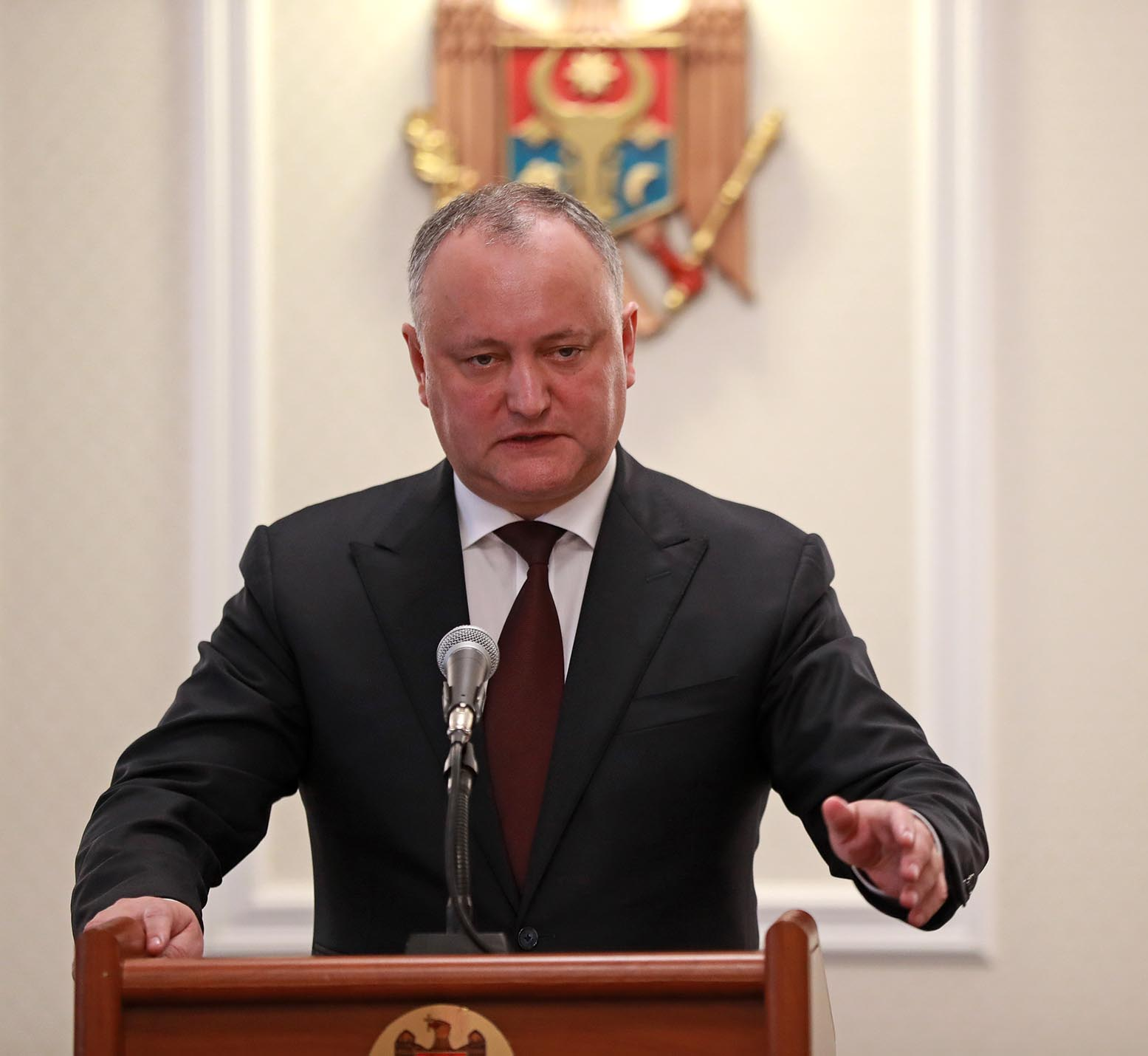Додон предупредил унионистов: Каждый, кто собирается дестабилизировать ситуацию в Молдове, будет жестко наказан