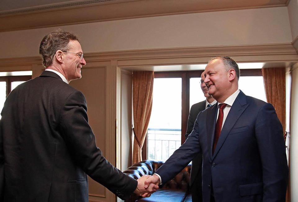 Президент провел ряд важных встреч в Германии (ФОТО)