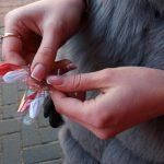 """Активисты """"Молодой гвардии"""" подарили символ пришедшей весны жителям столицы (ФОТО)"""