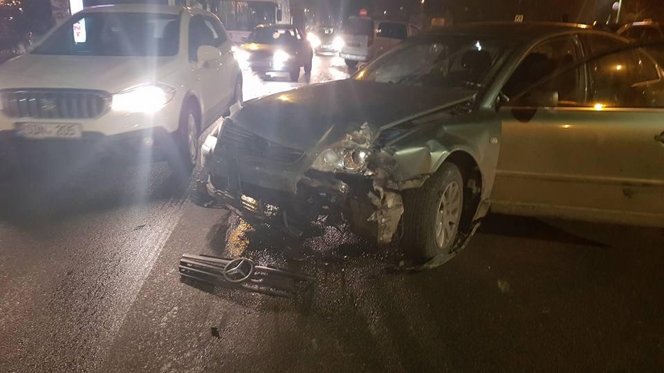 Вечерняя авария в Кишиневе: пострадала женщина (ФОТО, ВИДЕО)