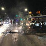 Ещё одна авария на перекрёстке улиц Штефана чел Маре и Лазо (ФОТО)