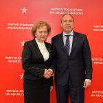 Зинаида Гречаный провела встречу с послом Румынии