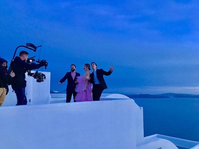 DoReDos показала эксклюзивные кадры со съёмок своего клипа (ФОТО)