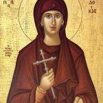 Президент поздравил верующих с днем святой преподобномученицы Евдокии Илиопольской