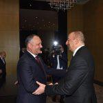 По приглашению президента Азербайджана Додон совершает визит в Баку (ФОТО)