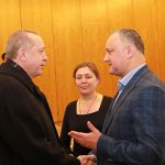 Додон обсудил предстоящий визит Эрдогана в Кишинев с послом Турции