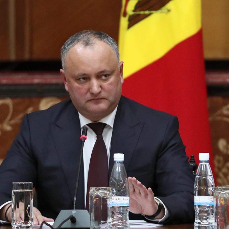 Додон: Подавляющее большинство молдаван хотят жить, как в Беларуси