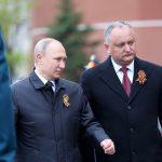 Додон поздравил Путина с победой на выборах: Сильная Россия нужна не только россиянам