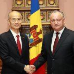 Додон и посол Китая обсудили сотрудничество между двумя странами