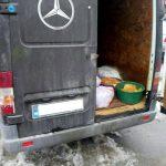 4 автобуса, забитые мясом и рыбой без документов, направлялись на центральный рынок Кишинёва(ФОТО)
