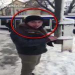 Вор стащил камеры наружного видеонаблюдения и попал в кадр (ВИДЕО)