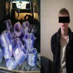 Парень ограбил столичный склад и нанёс ущерб компании в сумме 14 тысяч леев (ВИДЕО)