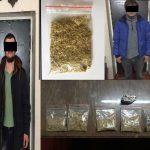 Двое молодых людей были задержаны полицией в неадекватном состоянии (ВИДЕО)
