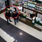 Укравшие мобильный телефон из аптеки злоумышленники попали на видео
