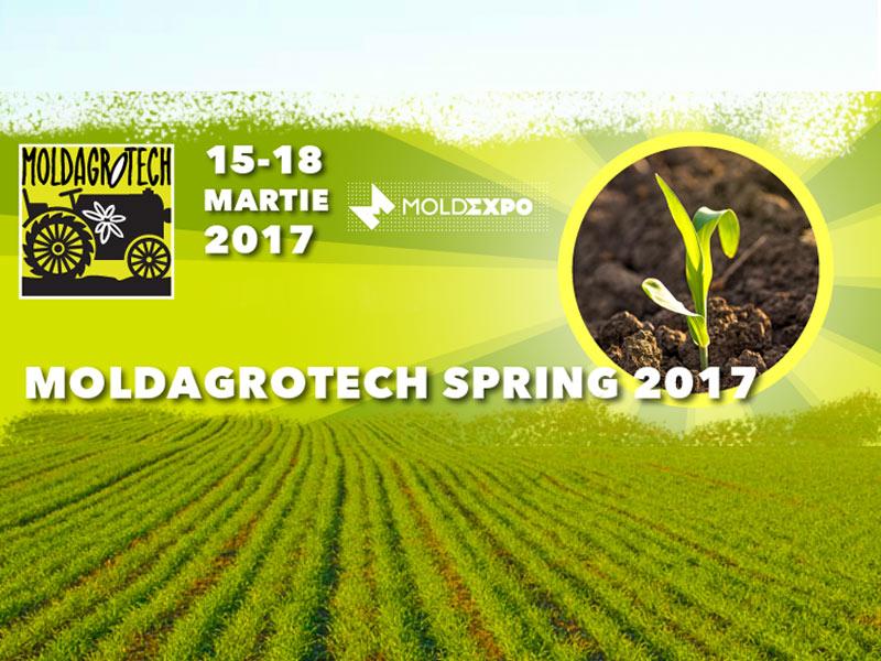 MOLDAGROTECH (spring) – открываем аграрный сезон 2018 вместе!